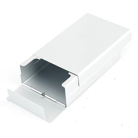 Amazon.com: Slide tipo aluminio caja de cigarrillo cigarro ...