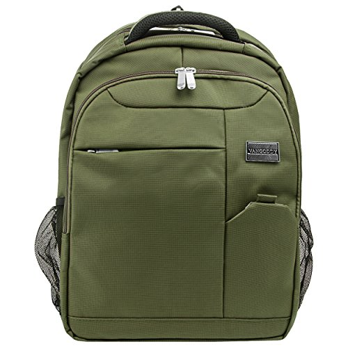 VanGoddy Olive Green Laptop Backpack for MSI Prestige/GT Series