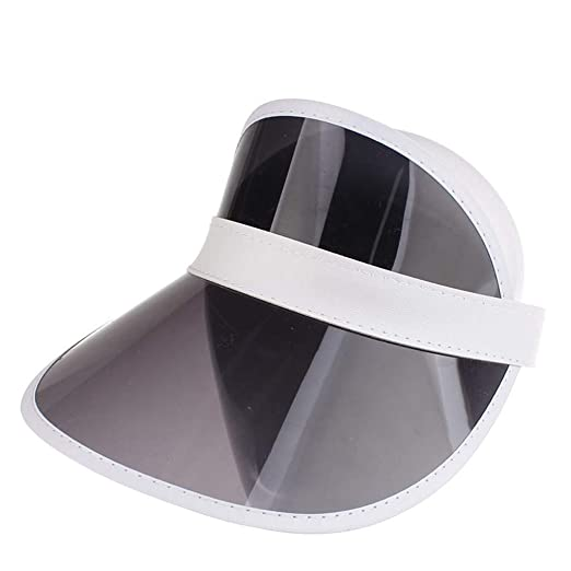14465228 Plastic Sun Visor UV Protection Hat Headband Solar Face Shield Hat for  Hiking,Golf,