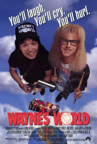 Pop Culture Graphics Wayne's World (1992) - 11 x 17 - Style A