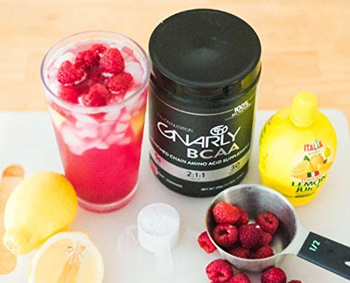 Gnarly Nutrition BCAA Workout Supplement || All Natural Muscle Recovery