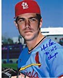 Autographed Mark Littell Photo - 82 WS CHAMPS 8x10 - Autographed MLB Photos