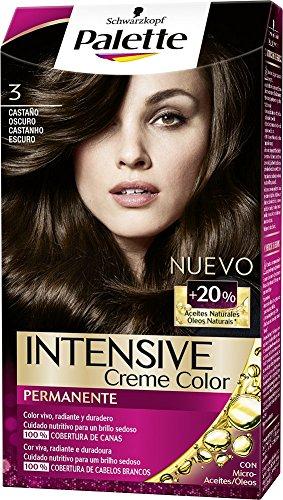 Carta de colores de cabello palette