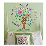 Oopsy Daisy Flower Tree Wall Decal