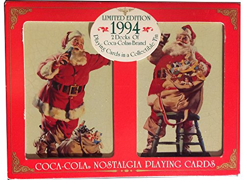 Limited Coca Cola Nostalgia Christmas Collectible