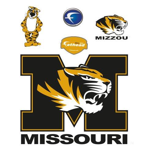 Fathead NCAA Missouri Tigers Missouri Tigers M Logo ()