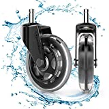 Amazon.com: Cusfull Premium Office Chair Caster Wheels Replacement ...