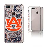 Keyscaper NCAA Auburn Tigers KCLR7X-0AUB-PAISL1 Apple iPhone Clear Case, iPhone 8 Plus/7 Plus/6 Plus, Clear