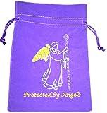 Protected Angels Luxury Velvet Drawstring