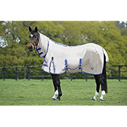 Saxon SoftMesh Combo Fly Sheet 84 Frappe/Blue
