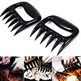 1Pair Pulled Pork Shredder Claws - STRONGEST BBQ Meat Claws Forks - Shredding Handling & Carving Food - BPA Free Barbecue Paws