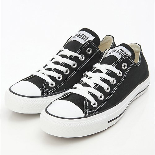 CONVERSE ALL STAR OX LOW BLACK Unisex Casual Shoes #A3 (M9166) My GN (M US3.5/US5.5 /EUR36)