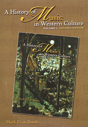 History of Music in Western Culture (includes 6 CDs) by Addison Wesley Longman