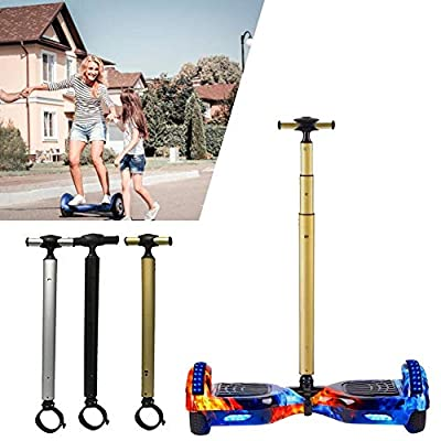 signmeili Aluminum Alloy Balance Scooter Handle Bar,Smart Hover Scooter Support Handlebar,Beginners Electric Hoverboard Holder for 6.5