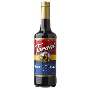 Torani Blood Orange Syrup, 25.4 Ounce