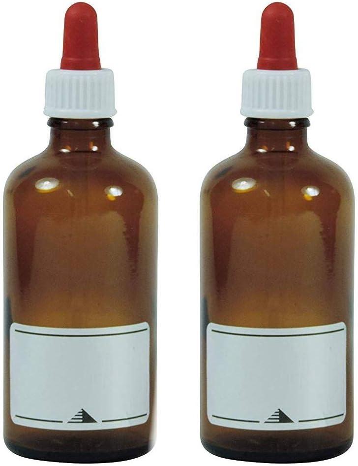 Viva-Haushaltswaren – 10 frascos cuentagotas de Vidrio, para ...
