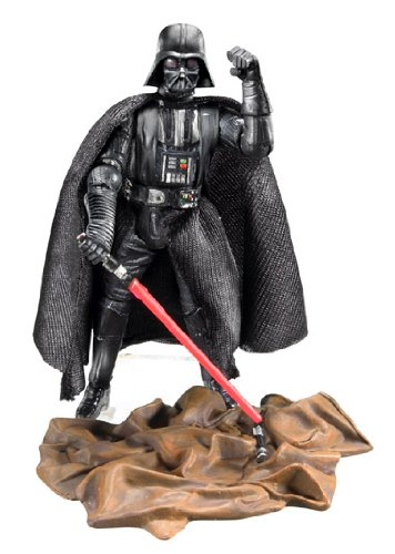 Star Wars 30th Anniversary Coin - Star Wars 30th Anniversary A New Hope DARTH VADER Action Figure with Plastic Collector Gold Coin