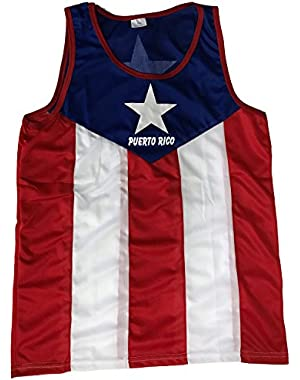 Tank Top Puerto Rico Flag