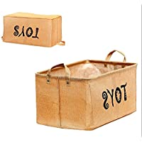 Toy Chest Baskets Storage Newest Well Standing Storage Bins For Dog Toys Kids Blankets - Skroutz