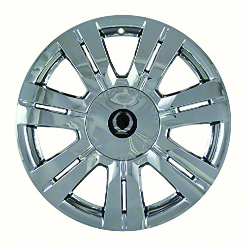 "Chrome 18"" Hub Cap Wheel Skins for Cadillac SRX - Set of 4"