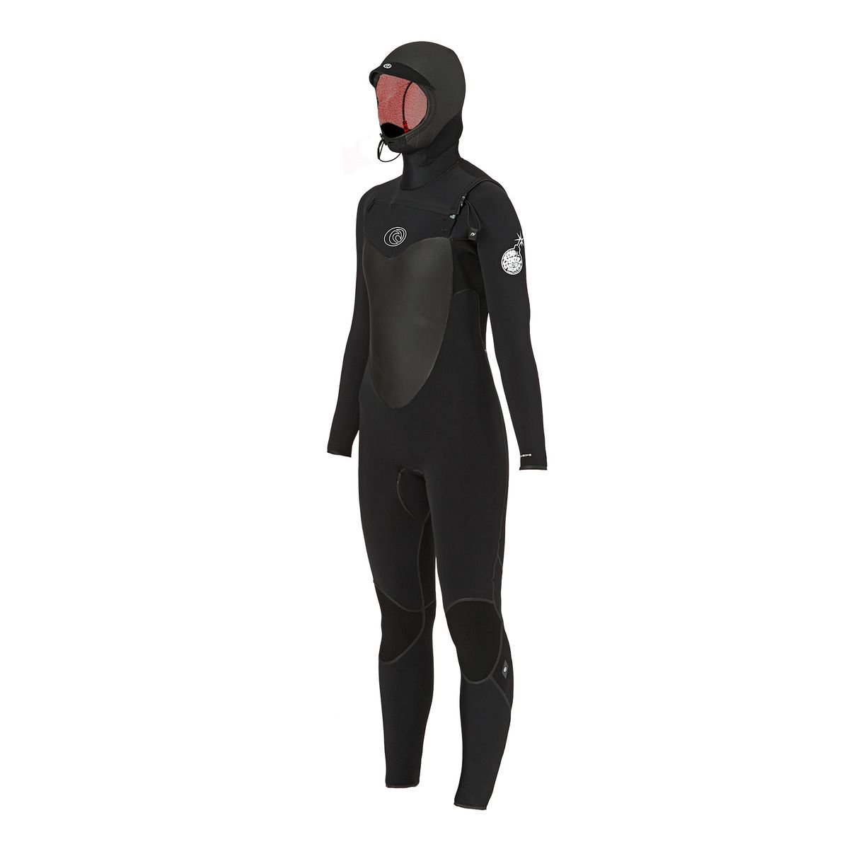 Wetsuit long Women Rip Curl Flashbomb Hood 5 4 Chest Zip Wetsuit   Amazon.co.uk  Clothing fc88d2b4a