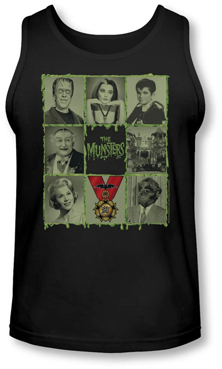 Munsters - Mens Blocks Tank-Top
