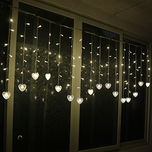 Heart Shaped Outdoor Lights in US - 8