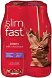 Slim Fast Creamy Milk Chocolate Ready To Drink Shakes, 4 Pack (Pack of 6)