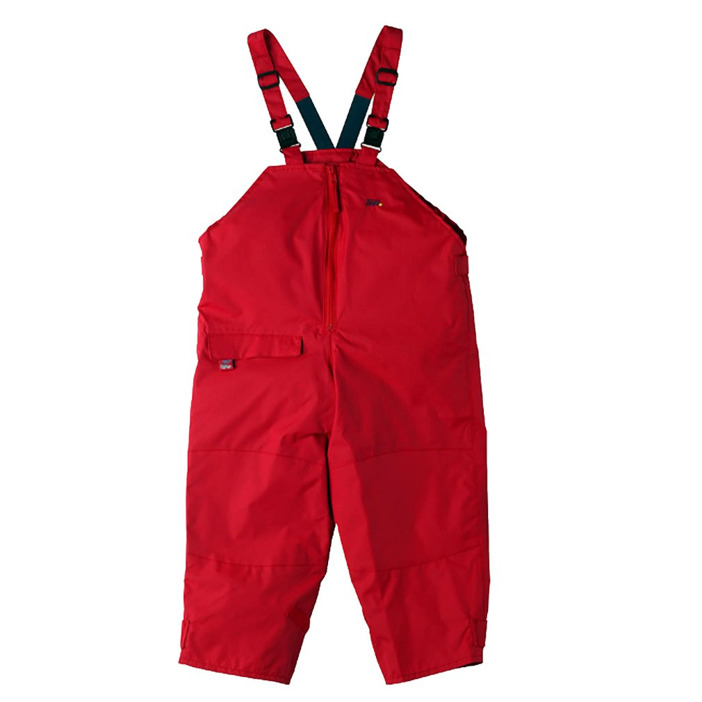Togz 12-18 mth Red Waterproof Dungarees - 83cm