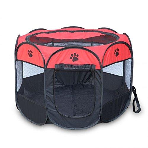 Purewill Pet Playpens Folding Pet Tent  Small & Medium Pet Play House