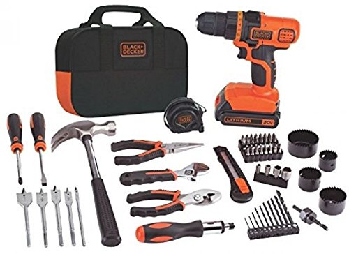 BLACK+DECKER LDX120PK 20-Volt MAX Lithium-Ion Drill And Project Kit (item_by#luxhomeliving2015 it#99152144765703