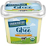 Carrington Farms USDA Organic Grass Fed Ghee, Clarified Butter,...