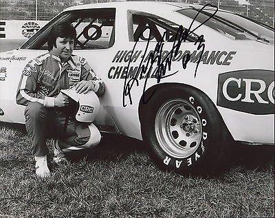- RICHARD CHILDRESS HAND SIGNED 8x10 PHOTO+COA RARE POSE AS NASCAR DRIVER