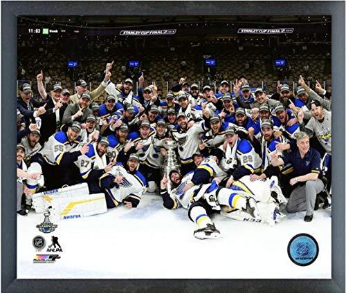 (St. Louis Blues 2019 Stanley Cup Champions Team Celebration Photo (Size: 12