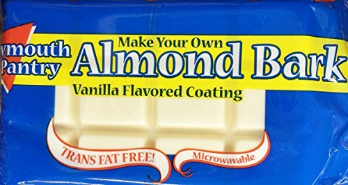 Plymouth Pantry Almond Bark Vanilla Baking Bar