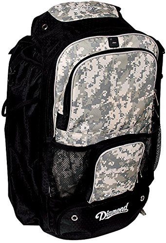 Diamond BPACK Back Pack, Camo (Fastpitch Backpack)