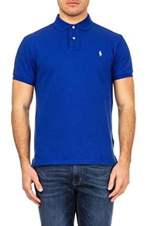 f7f0d4ec Ralph Lauren - Polo Short Sleeve Blue ELEC at Amazon Men's Clothing store:
