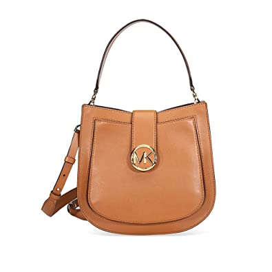 76b26121fe0db2 Amazon.com: MICHAEL Michael Kors Lillie Messenger Crossbody (Acorn ...
