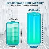 SHENMZ LG V20 Battery, [4390mAh] Upgraded High