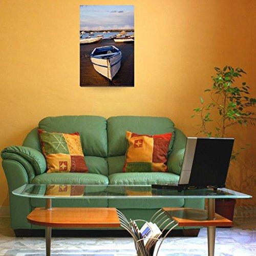 Amazon.com: Imagekind Wall Art Print entitled Boats Moored ...