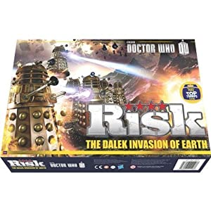 Risiko Doctor Who the Dalek Invasion von Earth Brettspiel