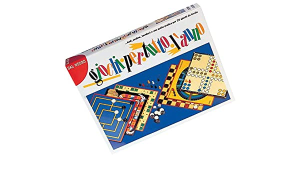 Dal Negro 53453 - Set de 25 Juegos Reunidos (Contenido en Italiano ...