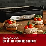 George Foreman Family Size GFS0090SB Open Grate