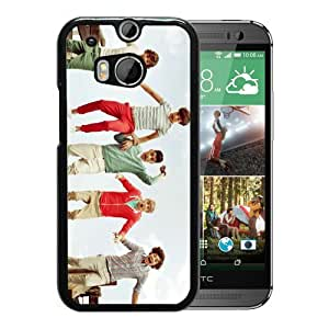 Fashionable Custom Designed Cover Case For HTC ONE M8 With One Direction 1D Boy Band Harry Styles Black Phone Case