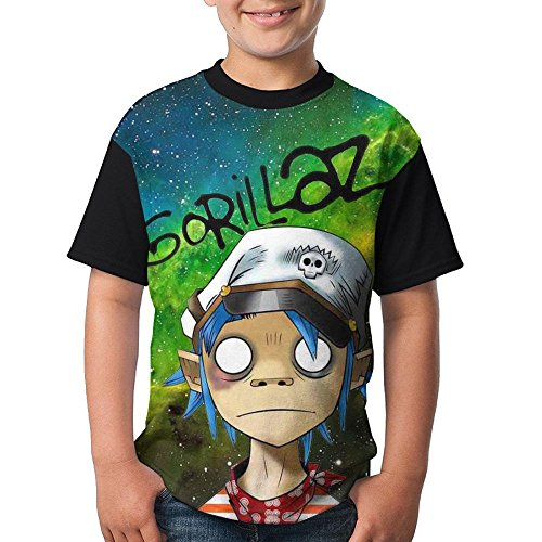 FOTNNRFK Gorillaz-Band Fashion 3D Youth T T-Shirt.We Have More Beautiful Products In Our Store!