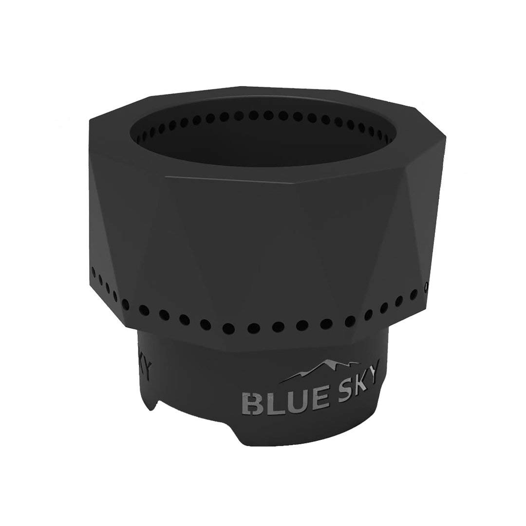Blue Sky Outdoor Living PFP1513 Portable Pellet Fire Pit, Black