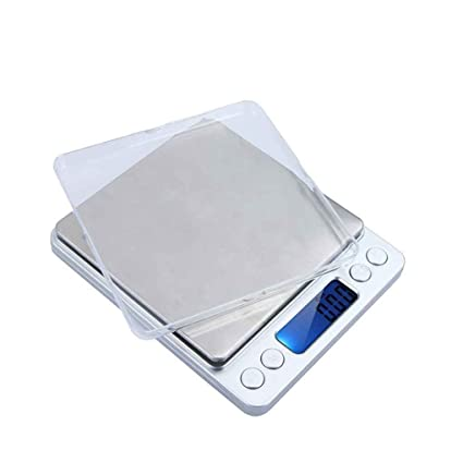 Portable Digital Lcd Pockets Weighing Balance Scale 300G//0.01G 2000G//0.1G/_~