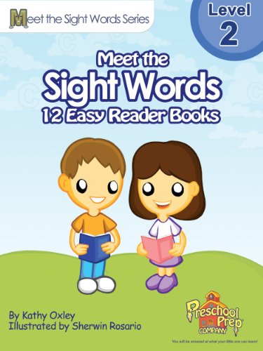 Meet the Sight Words Level 2 Easy Reader Books (set of 12 books) (Meet the Sight Words Easy Reader Books) - Dolch Readers