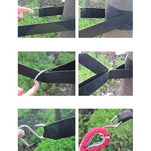 Outdoor Hammock Nouer un crochet Accessoires Crochet Up Professional Strap