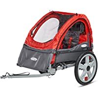 InStep Sync Single Bicycle Trailer (Red)